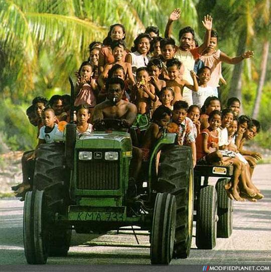 John Deere Manufactures School Bus For Children