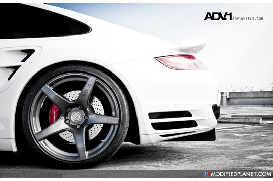 Porsche 997 Turbo With Adv1 Adv5 Concave Wheels