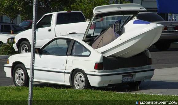 Car Photo Honda Crx Sea Doo Jet Ski Trunk on 1989 Acura Integra