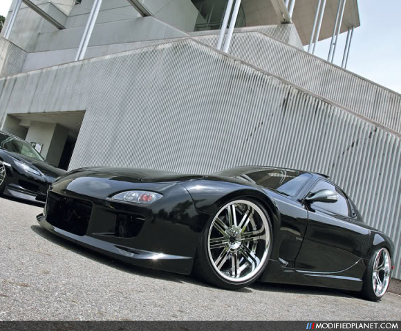 1995 Mazda Rx7 Turbo With 19 Quot Chrome Wheels