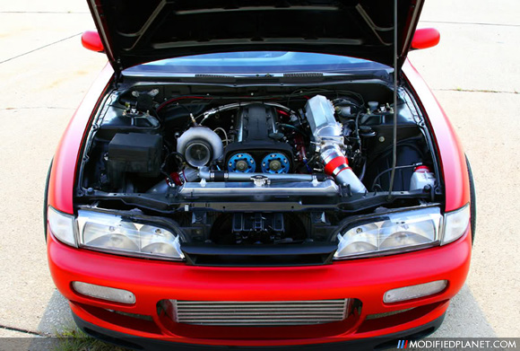 nissan 240sx with jdm 2jz supra turbo engineNissan 240sx 2jz Engine #12