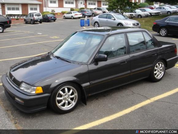 Car Photo Honda Civic Sedan Ef Door Panasport Street Wheels on 1991 Acura Integra 4 Door