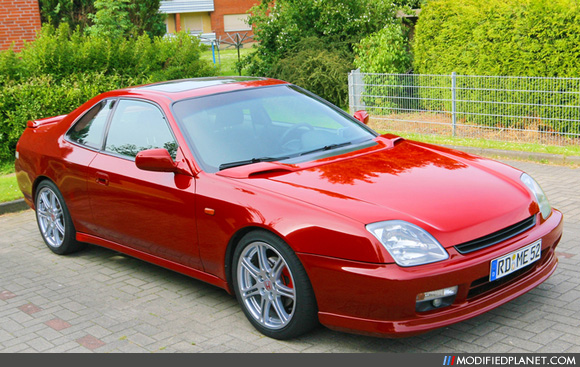2001 honda prelude type sh with jdm hood bonnet. Black Bedroom Furniture Sets. Home Design Ideas
