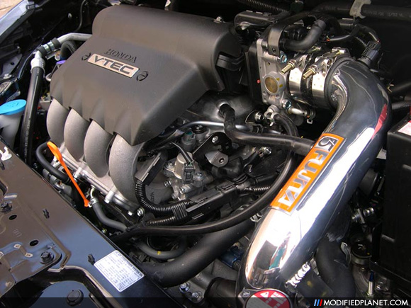 Fujita F5 Cold Air Intake System Installed On 2008 Honda Fit