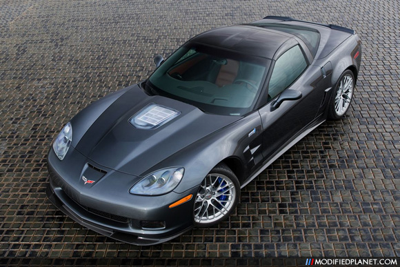 2011 Chevrolet Corvette Zr1 With Cyber Grey Metallic Paint