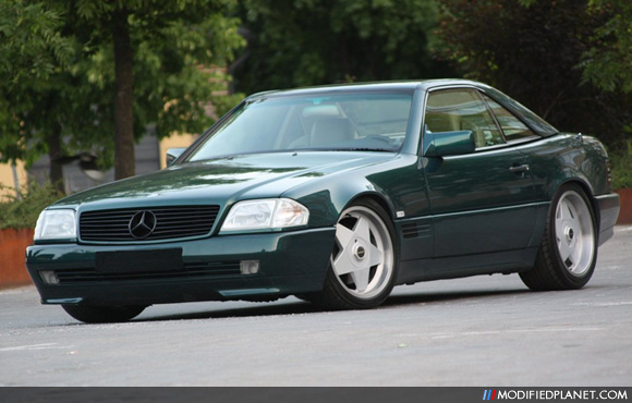 Mercedes Sl500 Wheels. 1995 Mercedes SL500 with 18quot;