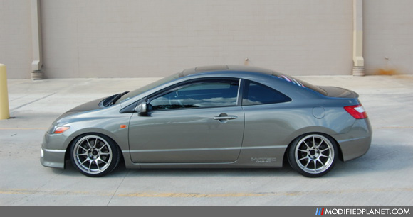 2008 Honda Civic Si With 17 Quot X 9 Quot Weds Sport Tc105n Wheels