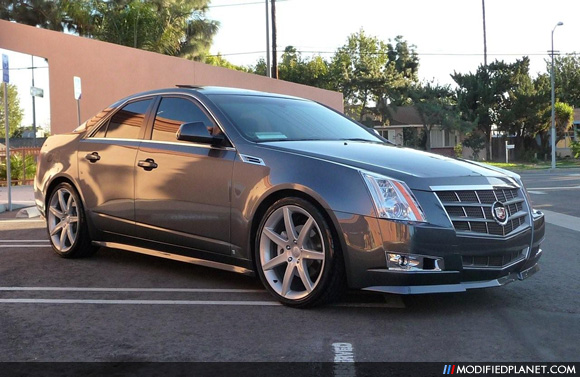 2009 Cadillac Cts With E Amp G Classics Body Kit And 20 Quot Vogue