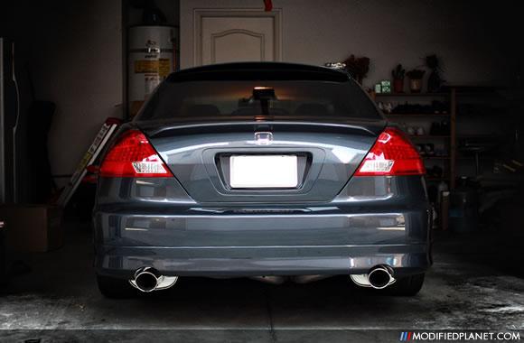 Car Photo Honda Accord Coupe Apexi World Sport Ws Dual Exhaust