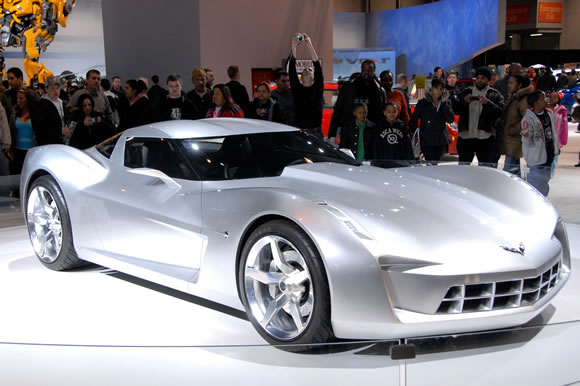 2009 Chevrolet Corvette Stingray Concept Car