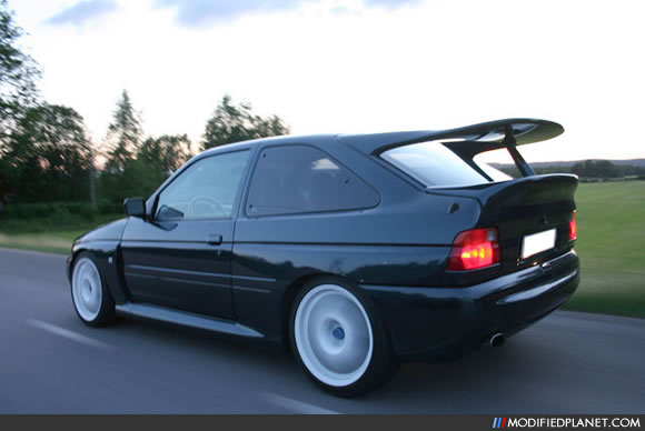 Car Photo Ford Escort Rs Cosworth Rolling Shot