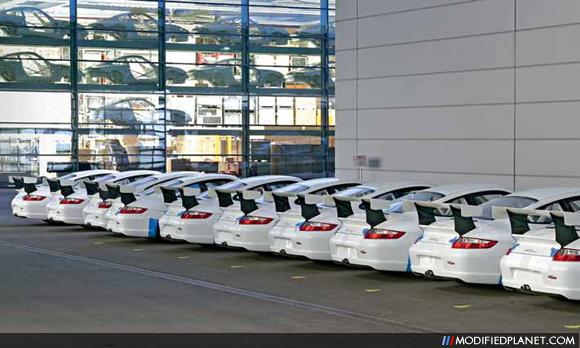 Porsche GT3 RS Cup S Factory Inventory