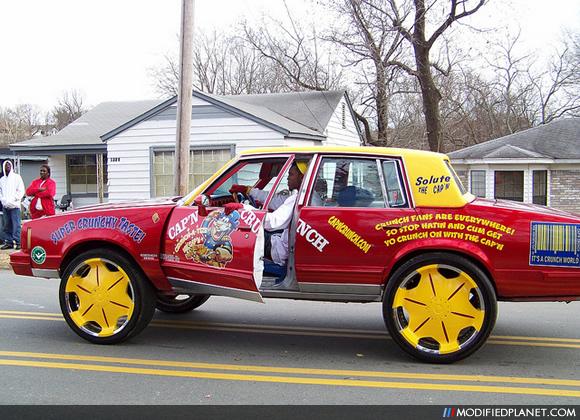 Car Photo Pontiac Bonneville Donk Captain Crunch