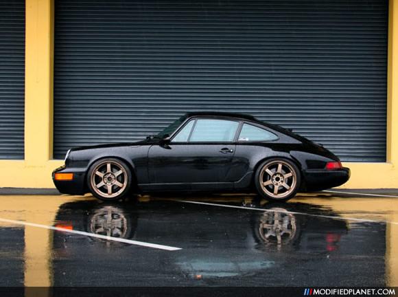 1993 Porsche 911 Turbo With Bronze Volk Racing Te37 Wheels