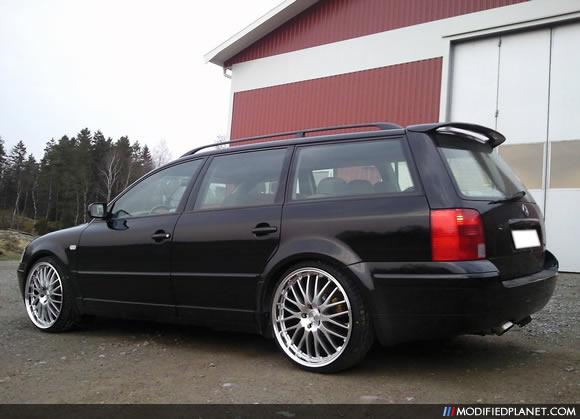 """2000 Volkswagen Passat Wagon with 20"""" Dotz Roadster Wheels,"""