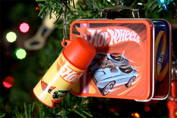 Hot Wheels Lunch Box Christmas Tree Ornament