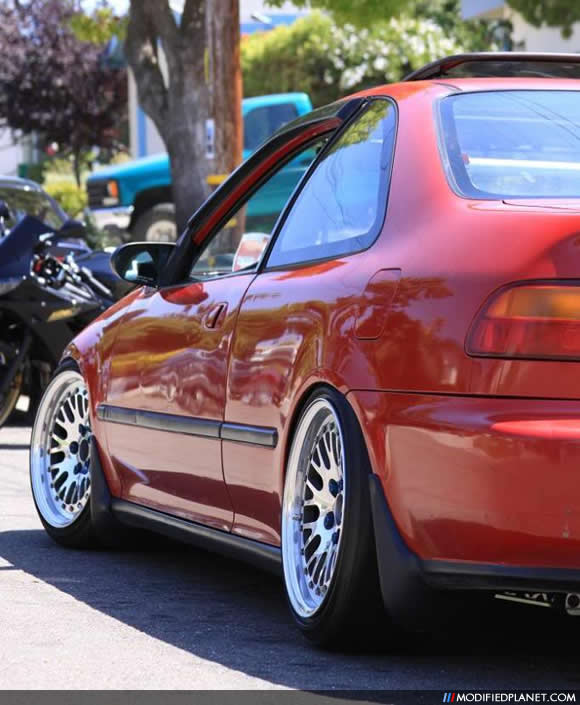 1994 Honda Civic Coupe With 16 X 9 Ccw Classic Wheels