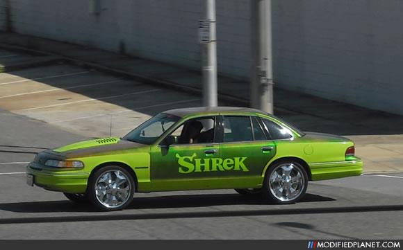 Car Photo Ford Crown Victoria Shrek Donk