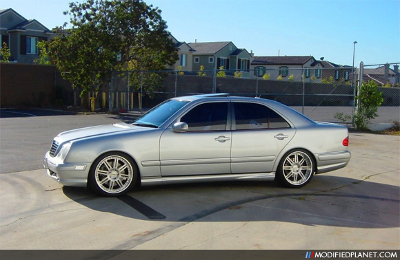 2001 Mercedes E55 Amg With 19 Quot Dpe R08s Wheels