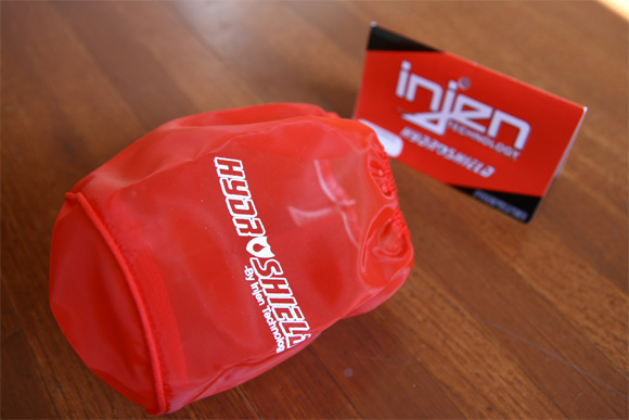 Injen 1035RED Hydro Shield RED Water Repellant Pre Filter New