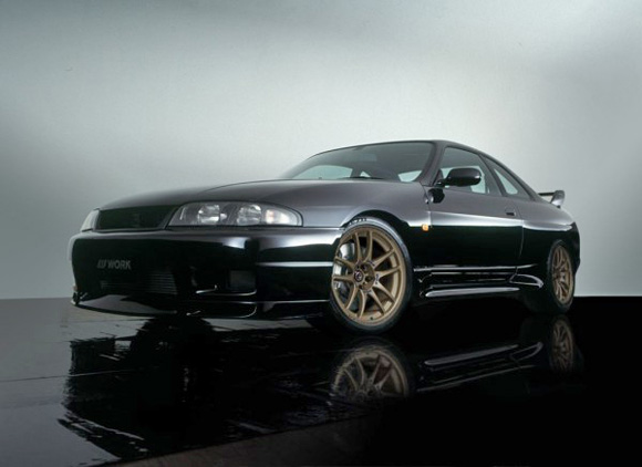 1996 Nissan Skyline R33 Gtr With 18 Quot X 9 5 Quot Work Emotion