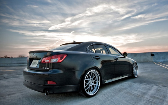 2009 Lexus Is350 With 20 360 Forged Mesh8 Wheels