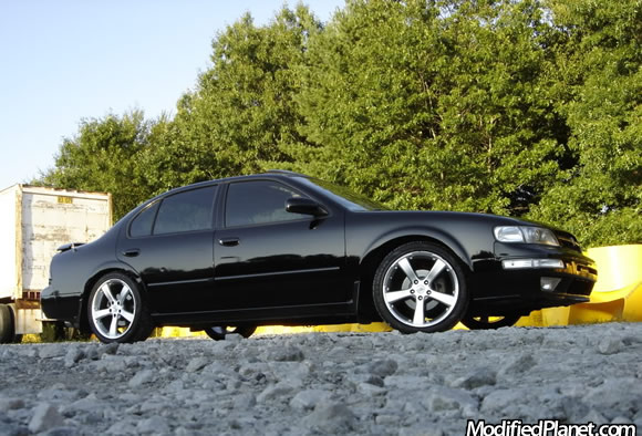 1999 Nissan Maxima With Intrax Springs And 18 Mille Miglia Evo5 Wheels