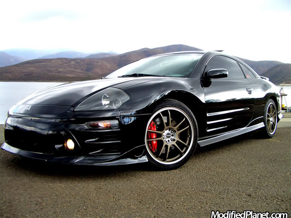 2005 mitsubishi eclipse gts with 18 x 8 tenzo dc 5 wheels. Black Bedroom Furniture Sets. Home Design Ideas