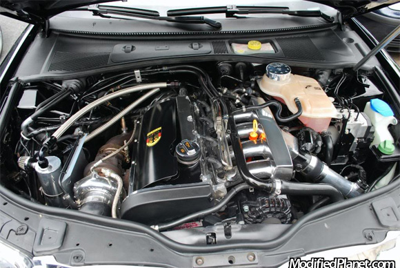 2002 Volkswagen Passat With Gt28r Turbo And Polished