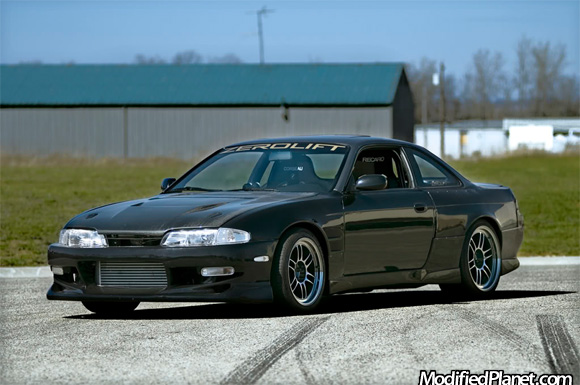 1995 Nissan 240sx With 17 Quot X 9 5 Quot And 18 Quot X 10 5 Quot Enkei