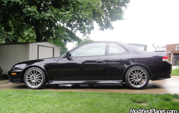 1999 Honda Prelude With 2006 Mitsubishi Evo Mr Bbs Wheels