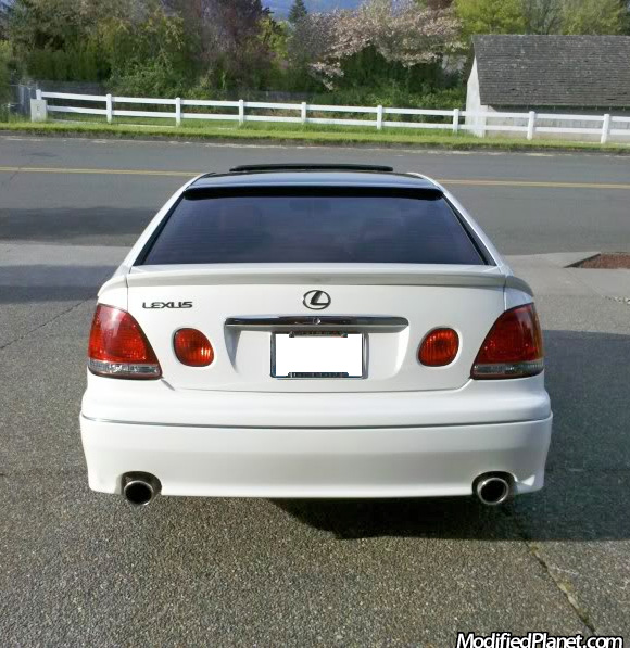 2000 lexus gs300 with rmm 3 piece spoiler and l sportline. Black Bedroom Furniture Sets. Home Design Ideas