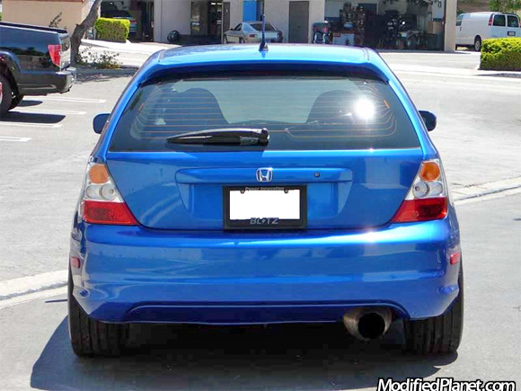 2004 honda civic si with greddy evo2 catback exhaust system. Black Bedroom Furniture Sets. Home Design Ideas