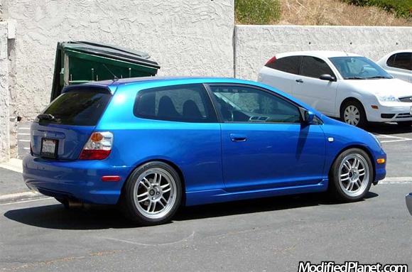 2004 Honda Civic Si With 17 Quot X 8 Quot Enkei Rpf1 Wheels