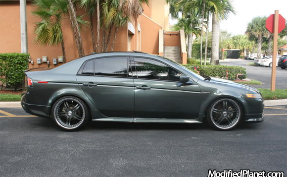 TLs With Wheels And Stock Ride Height HondaTech Honda Forum - 2006 acura tl wheels