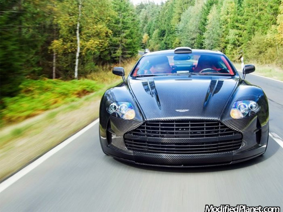 2008 Aston Martin Db9 With Carbon Fiber Front End