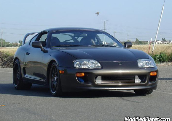 1993 5 Toyota Supra Turbo With Greddy Front Mount Intercooler