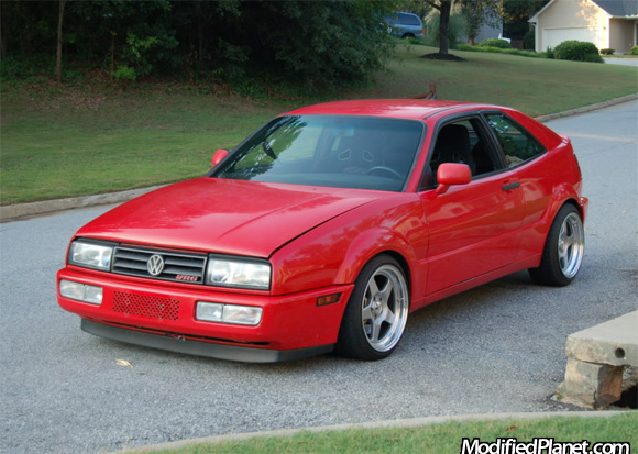 1992 volkswagen corrado vr6 with 16 jline 5sl2 wheels. Black Bedroom Furniture Sets. Home Design Ideas