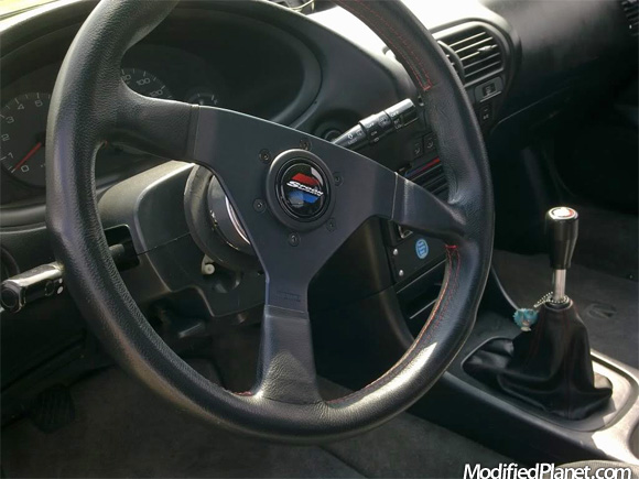 Acura Integra With Spoon Sports Steering Wheel And Shift Knob - Acura integra steering wheel