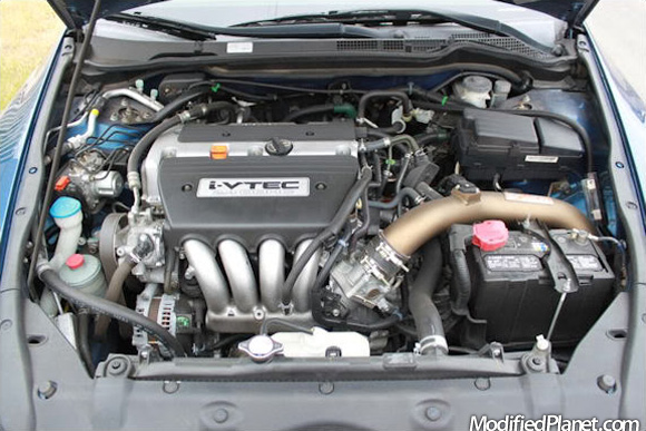 2006 Honda Accord Ex Coupe With Fujita Cold Air Intake System