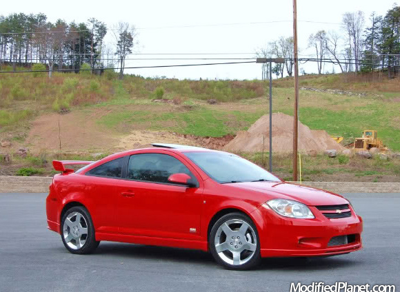 2007 chevrolet cobalt ss with eibach sportline lowering. Black Bedroom Furniture Sets. Home Design Ideas