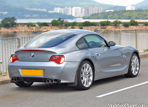 2008 Bmw Z4 M With Eisenmann Exhaust And Rear Diffuser