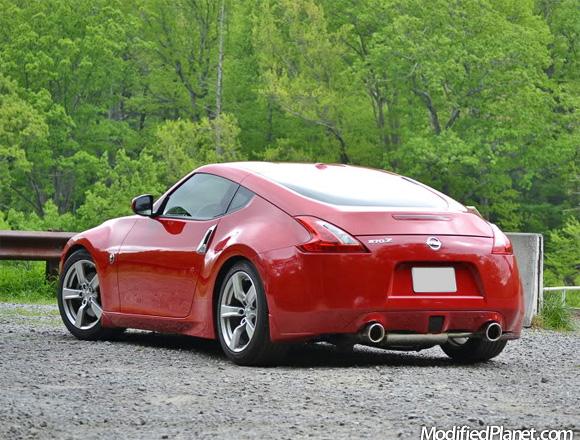 Car Photo Nissan Z Touring Invidia Gemini Catback Exhaust System
