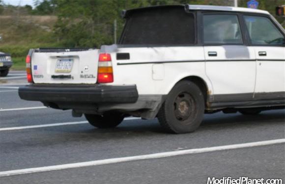 1990 Volvo 240dl Wagon Flat Bed Pickup Conversion