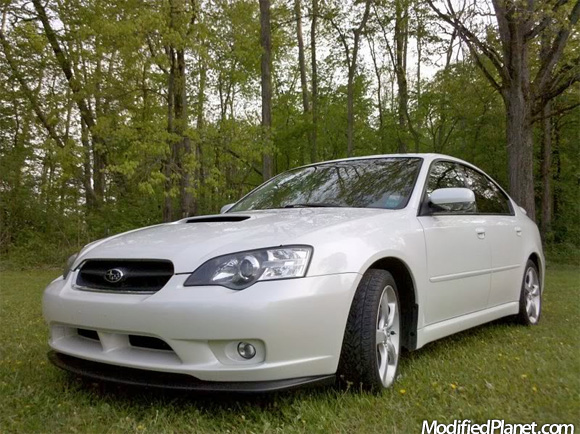 Car Photo Subaru Legacy Gt Clear Cleared Headlights