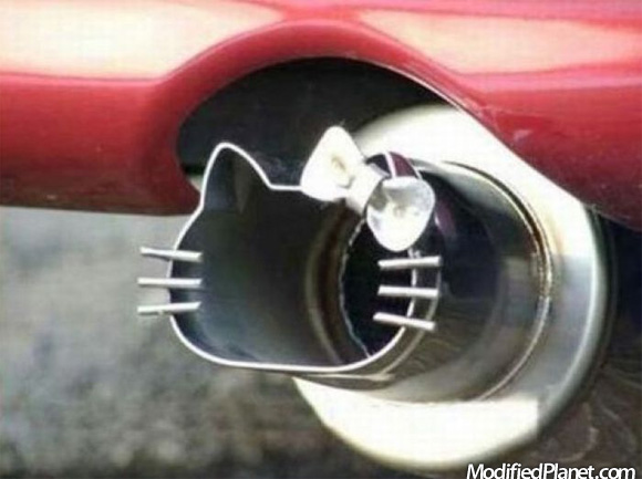 JDM Hello Kitty Exhaust Tip