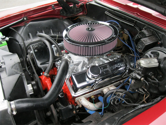 1969 Chevrolet Camaro Ss With K Amp N Filter Kit