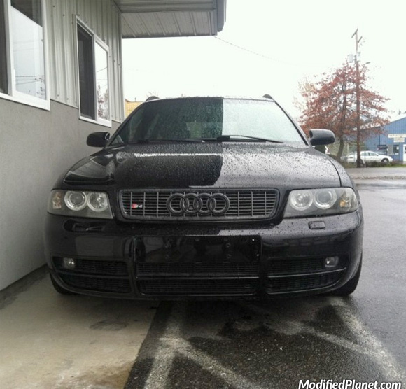 Audi S Avant With Black Front Grill And Smoked Headlights - 2002 audi s4