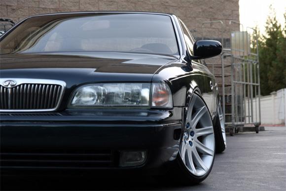 2000 Infiniti Q45 With 2003 Bmw 745li Oem Wheels