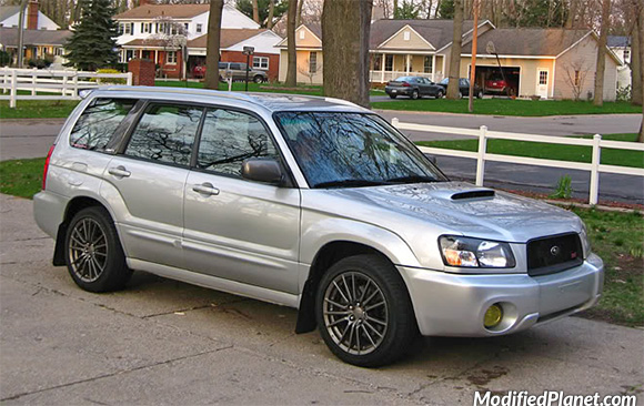 2004 Subaru Forester Xt With 2011 Subaru Wrx Wheels